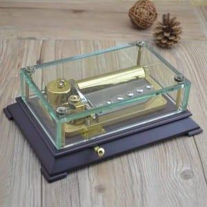 Crystal un klase Music Box-Y50LB