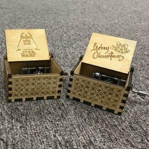 Factory wholesale Wonderful Life Music Box - Simple wooden music box-LP-47 – Yunsheng