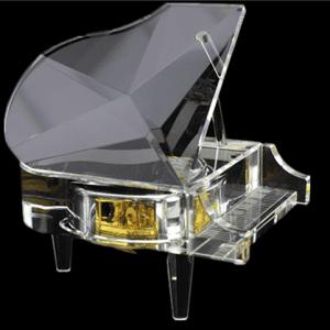 Crystal un klase Music Box-YB8C25