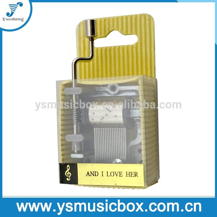 Yunsheng Brand Custom song paper music box