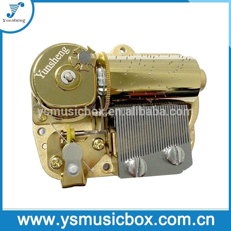 Manufacturer for Mini Wood Music Box - Yunsheng 30-Note Deluxe Musical Movement custom music box movements – Yunsheng
