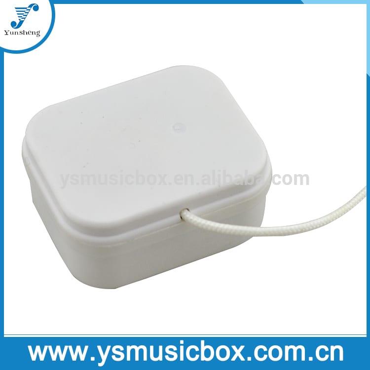 Mini baby music box Pull String Musical Movement christmas music box