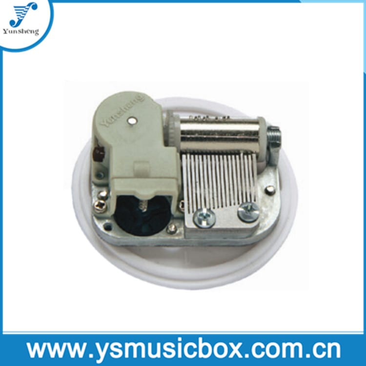 mechanism for musical box Miniature Movement with Center Wind up (YM3002EB)
